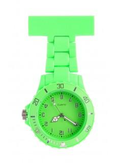 Reloj de enfermera Neón Verde Lima