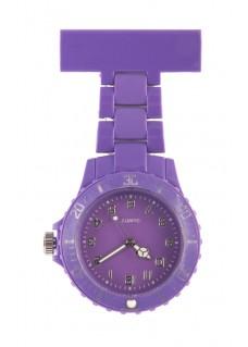 Reloj de enfermera Neón Violeta