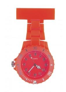 Reloj de enfermera Neón Rojo