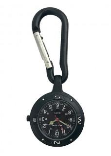 Reloj para enfermeras Cinturón Mosquetón NOC451 Stealth Black
