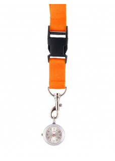 Reloj colgante para Enfermeras Naranja