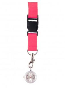 Reloj colgante para Enfermeras Rosa