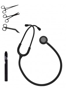 Hospitrix Kit de instrumentos Stealth Black con Grabado Gratis!