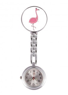 Reloj Enfermera Flamingo