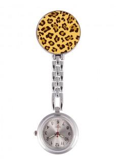 Reloj Enfermera Pantera Amarillo