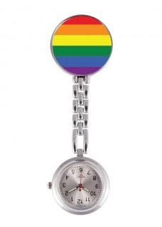 Reloj Enfermera Arcoiris