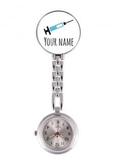 Reloj Enfermera Jeringuilla