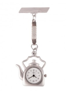 Reloj Enfermera Tetera