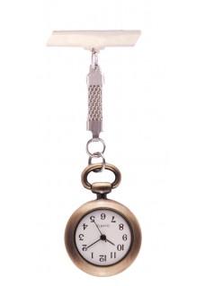 Reloj Clásico Bronce