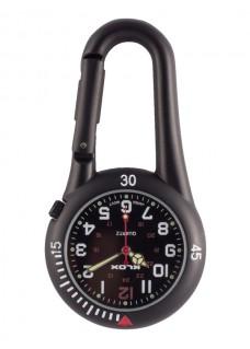 Reloj Mosquetón Negro