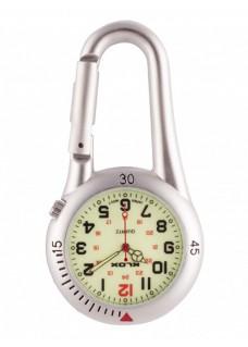 Reloj Mosquetón Plata