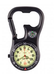 Reloj Enfermera Mosquetón Stealth Black