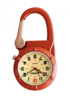 Reloj Mosquetón 471 Luminoso Naranja
