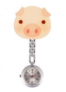Reloj Enfermera Cerdito