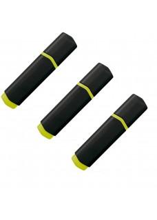 Rotulador Pack de 3 Negro / Amarillo