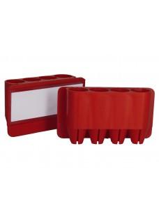Portabolis Penfix Rojo