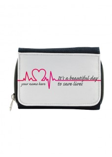 Cartera Monedero Beautiful Day con tu Nombre