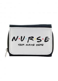 Cartera Monedero Nurse con tu Nombre