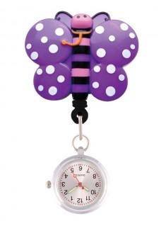 Reloj Enfermera Mariposa