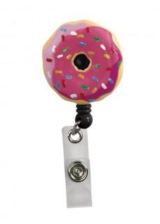Pinza Retráctil Tarjetas Identificativa Donut