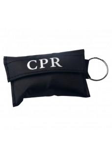 Llavero con Máscara CPR Negro