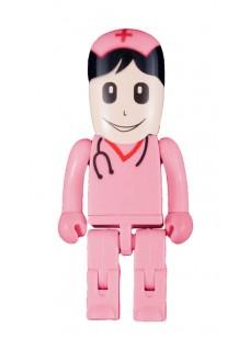 Memoria USB Enfermera Rosa