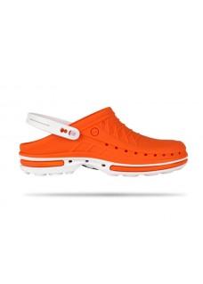 Wock Clog 05 Blanco / Naranja 47-48