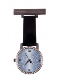 Reloj Enfermera Glamour Negro