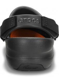 Fuera de stock - talla 3940 Crocs Bistro Pro Negro