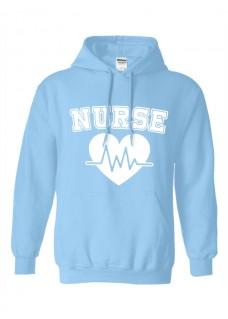 Sudadera Gildan Nurse Number 1 ECG
