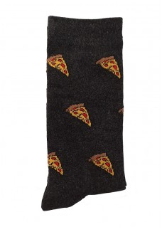 Calcetines Happy Pizza para Mujer