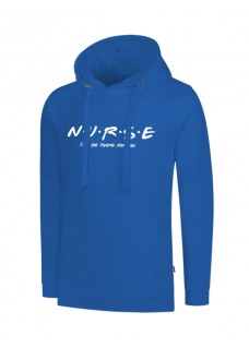 Sudadera Nurse For You Azul