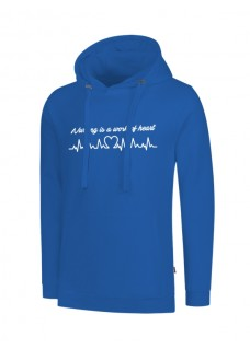 Sudadera Work Of Heart Azul