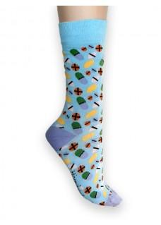 Calcetines Happy Pastillas Médicas para Mujer