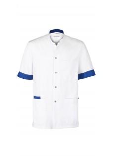 Haen Casaca Sanitaria Floris White/Royal Bleu