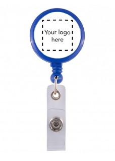Porta Credenciales con Logo