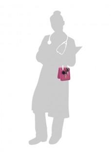 Elite Bags KEEN'S Organizador Rosa + accesorios GRATIS