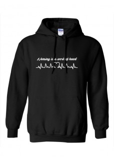 Sudadera Gildan Work of Heart