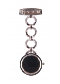 Reloj Enfermera Henley Plateado Redondo