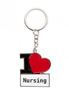 Llavero I Love Nursing