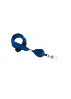 Colgante Lanyard con Porta Credenciales Azul