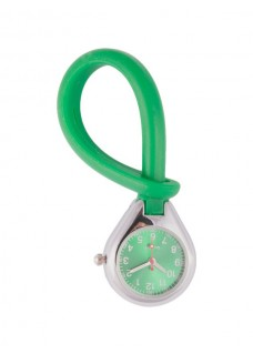 Reloj de silicona para colgar Verde 2