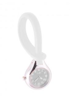 Reloj de silicona para colgar Blanco
