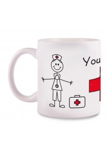 Taza Enfermero Stick Cross