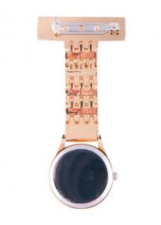 Reloj Enfermera Elegante Oro Rosado
