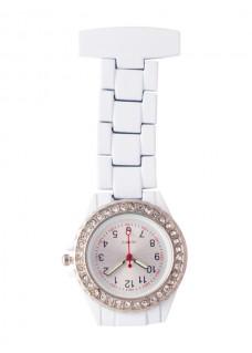Reloj Enfermera Blanco