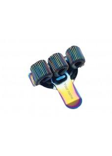 Porta bolígrafos Triple Metal Rainbow