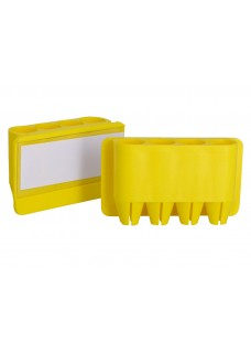 Portabolis Penfix Amarillo