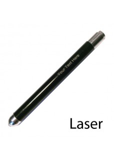 Linterna pupilar LED Negro