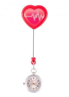 Reloj Enfermera ECG Retráctil